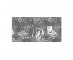 artverum® Glas-Magnetboard Edelmetall