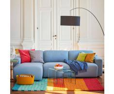 Clifden 3-Sitzer Sofa Longchair links Sitzauszug motorisch
