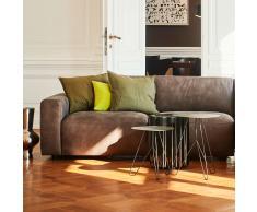 Clifden Leder 3-Sitzer Sofa