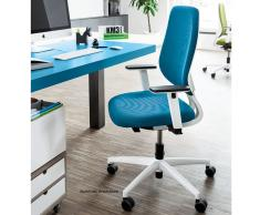 speed-o Komfort Bürodrehstuhl hellblau