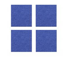 Violan Untersetzer eckig 4er-Set dark-blue