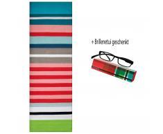 Stripes Teppich Lido und Remember® Brillenetui