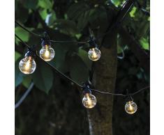 Lucas LED Outdoor Party Lichterkette mit Erweiterung klar