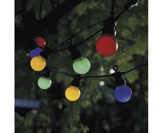 Lucas LED Outdoor Party Lichterkette Erweiterungsset multicolor