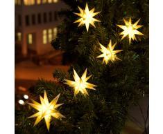 18 Zacker Sternenkette Outdoor LED Lichterkette