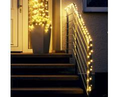 LED Draht-Lichterkette Outdoor mit Dioden
