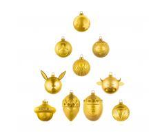 Le Palle Presepe Weihnachtsbaumkugel 10er-Set