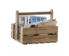 Kista Holzkiste mit Tragegriff