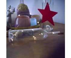 Flaschenlicht Sterne LED Lichterkette