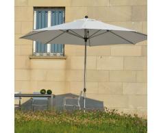 Lino Sonnenschirm weiß