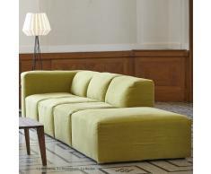 Donna Sofa System Armlehne gelbgrün