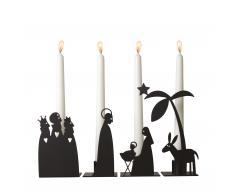 Krippe Kerzenleuchter 4er-Set