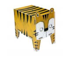 Vierbeiner Hocker und Beistelltisch Tiger