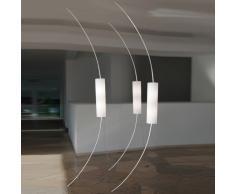 between XL LED Decken- und Bodenleuchte