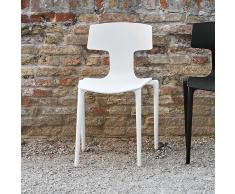 Split Outdoor Stuhl weiss