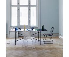 Panton One Stuhl Indoor schwarz-schwarz