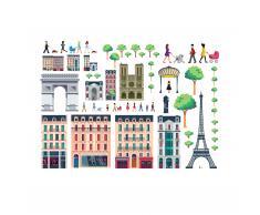 Lekkerplèkkuh Paris Fenstersticker