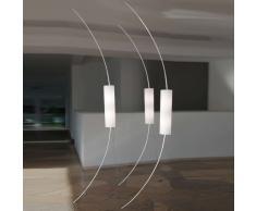 between LED Decken- und Bodenleuchte mit Sensordimmer