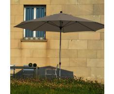 Lino Sonnenschirm grau