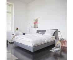 now! Boxspringbett 160 grau
