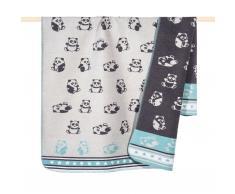 Panda Baby- und Kinderdecke
