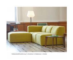 Donna Sofa System Sitz gelbgrün