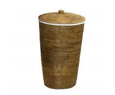 Basket Wäschekorb mit Leinensack