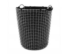 Korbo Classic Wäschekorb 80 verzinkt schwarz