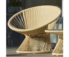 Ray Lounge Sessel beige
