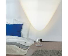 Puk Spot LED Tischleuchte Glas weiß