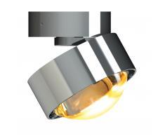 Puk Move LED Wand- und Deckenleuchte Linse chrom glänzend
