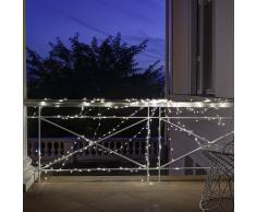 LED Draht-Lichterkette Outdoor Sterne 240 LED
