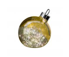 Ornament XXL Weihnachtskugel LED Leuchtobjekt