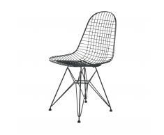 Wire Chair Stuhl DKR basic dark neue Maße