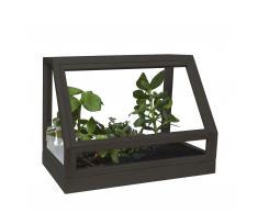 Greenhouse Mini-Gewächshaus dunkelgrau