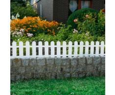 Beetzaun Gartenidylle, 4er-Set, Kunststoff, 240x29 cm
