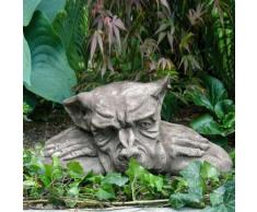 Gartenfigur Gargoyle Odin