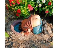 Gartenfigur Leo mit nacktem Po