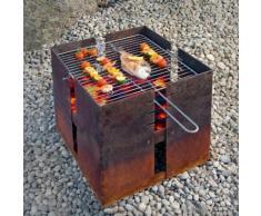 Feuerstelle und Grill Fidibus, Set