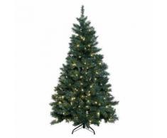 Künstlicher LED-Außen-Weihnachtsbaum Grüne Pracht, mittel