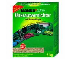 Unkrautvernichter mit Rasendünger, 3 kg