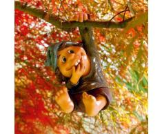 Gartenfigur Kletter-Gnom Tilly