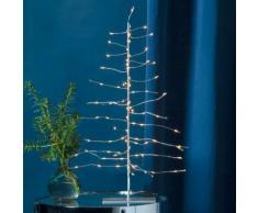 Star LED-Baum Firework, 45x28x28 cm, Metall, silber