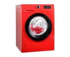 GORENJE Waschmaschine W8543T, 8 kg, 1400 U/Min, rot, A+++