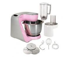 Bosch Küchenmaschine »CreationLine MUM58K20«, 1000 Watt, mit viel Zubehör, rosa