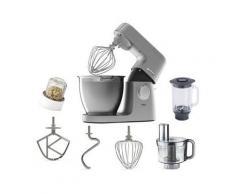 KENWOOD Küchenmaschine Chef XL Elite KVL6410S, 1400 W, 6,7 l Schüssel, inkl. Zubehör im Wert von UVP € 179,98, silber