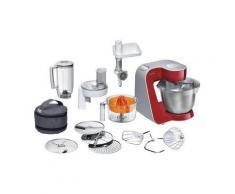 Bosch Küchenmaschine »Styline MUM56740«, 900 Watt, mit viel Zubehör, rot