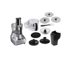 Gastroback Kompakt-Küchenmaschine Design Food Processor Advanced 40965, 1100 W, 2 l Schüssel, Design Food Processor Advanced 40965 Kompakt-Küchenmaschine, silber