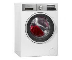 Hanseatic Waschmaschine HWM714A3D, 7 kg, 1400 U/Min, Frontlader-Waschmaschine, weiß, A+++