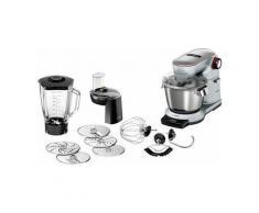 Bosch Küchenmaschine OptiMUM MUM9DT5S41, 5,5 Liter, 1500 Watt, aus Aluminium Druckguss, silber